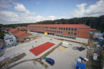 Erweiterung Gymnasium, Langen